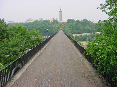 High Bridge deck