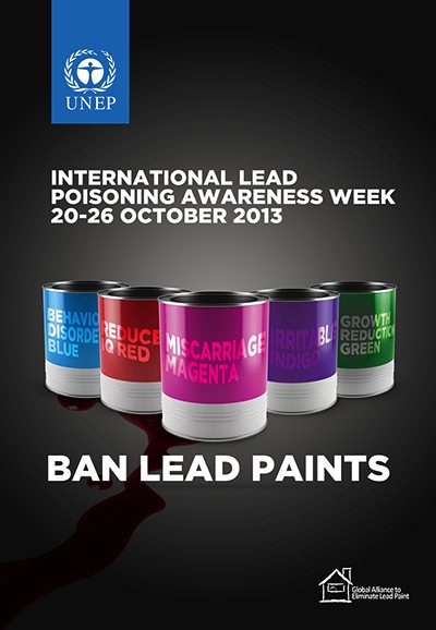 International Lead Poisoning Awareness Week
