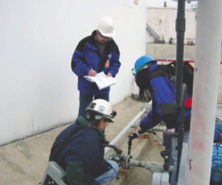 Leak and Repair Detection