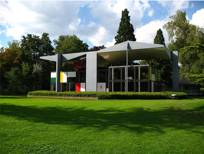 House designed by Le Corbusier