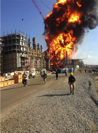 Williams Olefins explosion