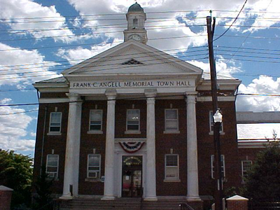North Providence, RI, town hall