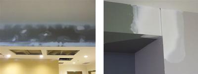 Bad drywall repairs