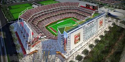 49ers Stadium rendering