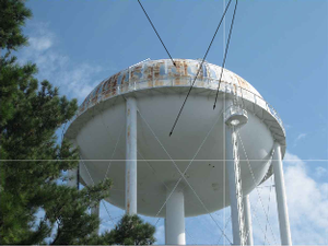 Athens Tech water tower