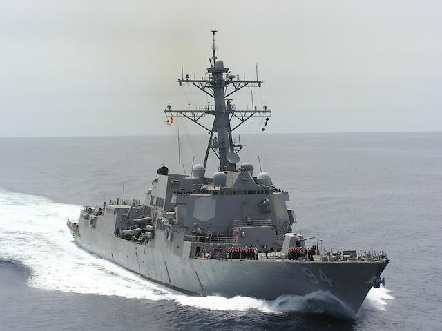 USS Nitze fatality