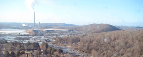 Kingston coal ash spill