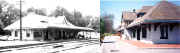Prospect Train Station