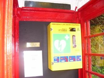 Adopt a Kiosk defibrillators