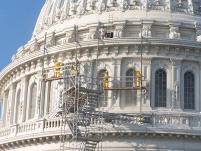 US Capitol renovation
