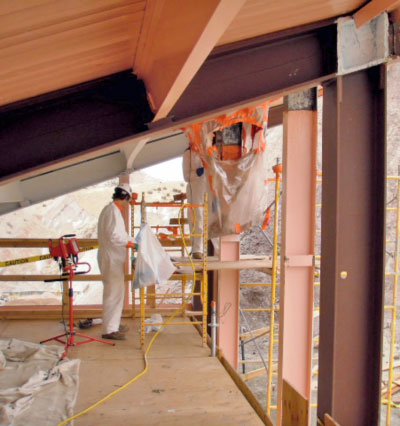 Dinosaur National Monument lead paint removal