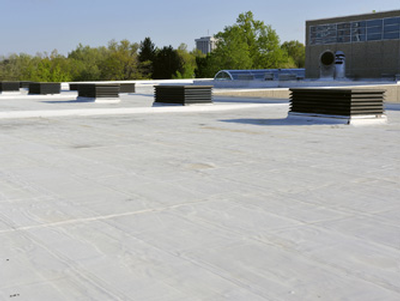 Hyload white roof membrane