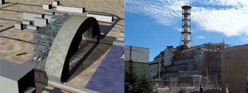 Chernobyl shelter