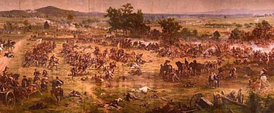National Park Service image of Gettysburg Cyclorama