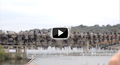 Marble Falls Bridge implosion