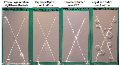 Comparison of mg-rich primer