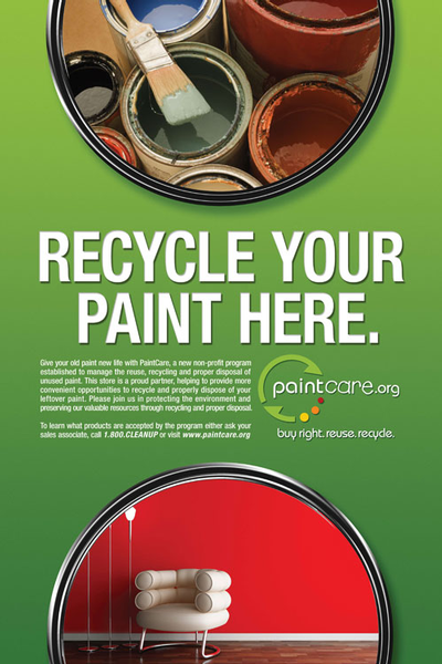 PaintCare poster