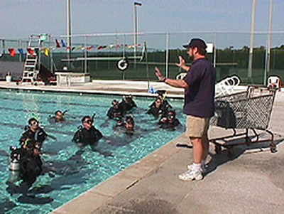 NOAA-Diver-Training