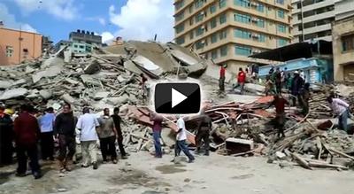 Tanzania building collapse
