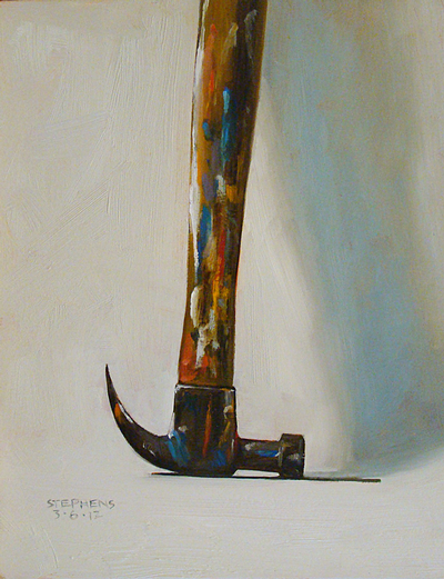 Painted hammer - Craig Stephens