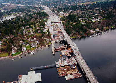 SR 520 floating bridge