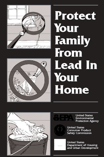 Lead-safe pamphlet