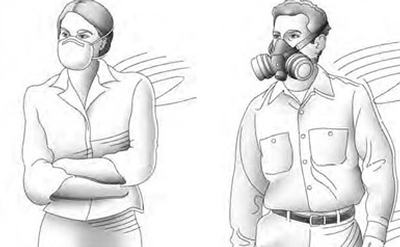 half mask respirators