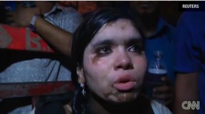 Collapse survivor Ria Pugem