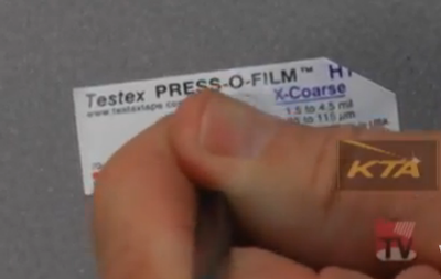 Tesstex Press-O-Film Replica Tape