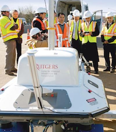 Rutgers Bridge robot