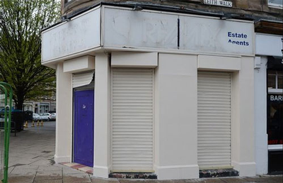 Scotland building painted to cover cannabis smell