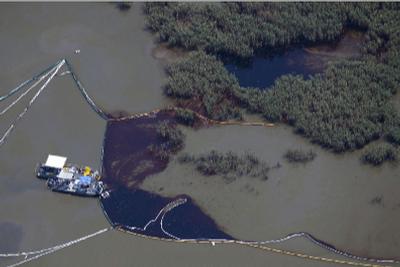 Deepwater Horizon oil spill skimmers