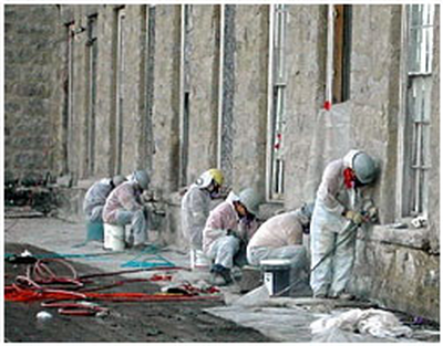 Lead paint work