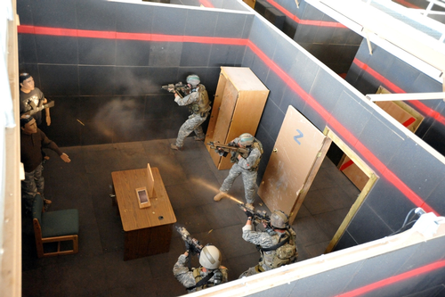 Army Lead Regs - Shoot House