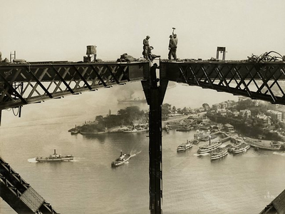 Sydney Harbor Bridge - archive