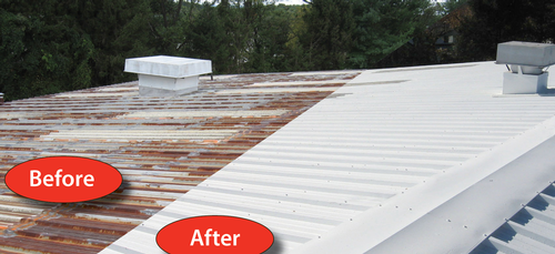 Firestone Fluid Applied Metal Roofing Systems