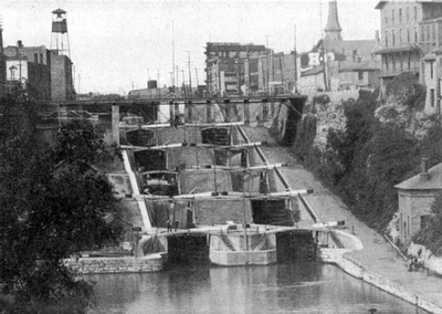 Flight of 5 Locks