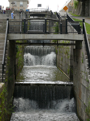 Flight of Five Locks