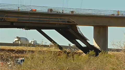 AZ Bridge Support Collapse
