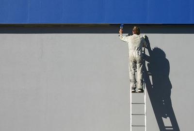 Modern trade painter
