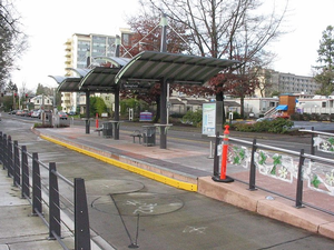 Eugene BRT Stop