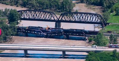 Calgary train derailment