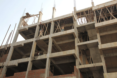 India - housing construction