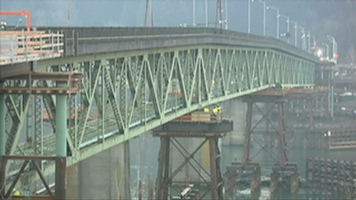 Sellwood Bridge move