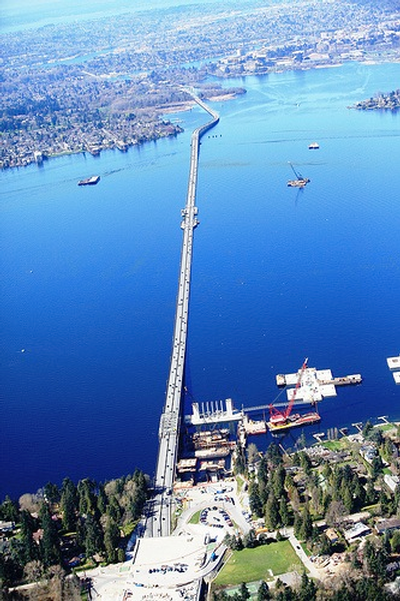 SR520 floating bridge