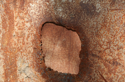 Corroded magnesium alloy
