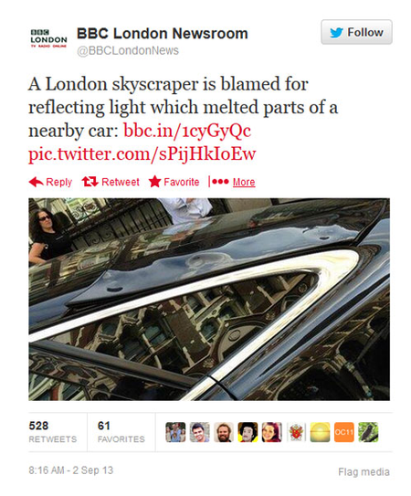 tweet from BBC