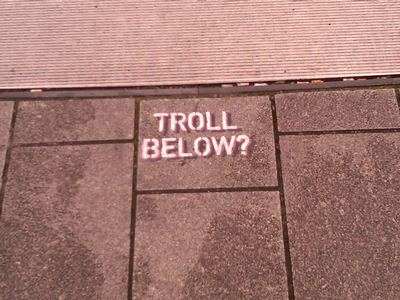 Troll Below