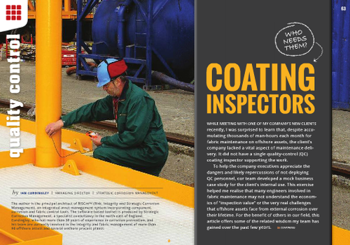 Coating Inspectors - JPCL-E