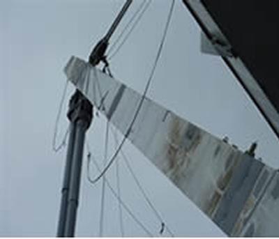 Coating repair in the air